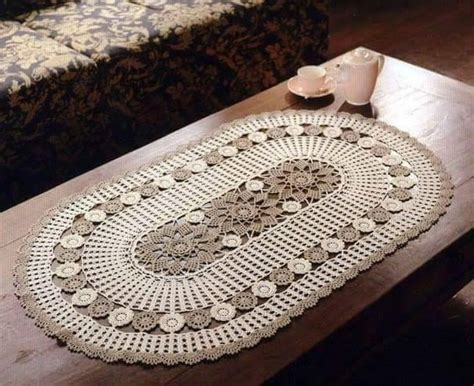 free crochet table runner patterns 140 knitting