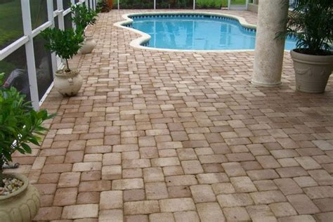 remodel your pool deck using thin overlay pavers thin pavers coping remodel your pool deck patio or