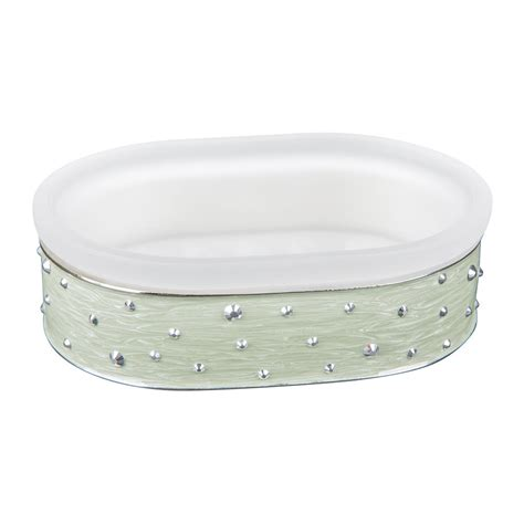 Buy Mike Ally Stardust Soap Dish White Jade Labrador Bathroom Accessories Soap Dish