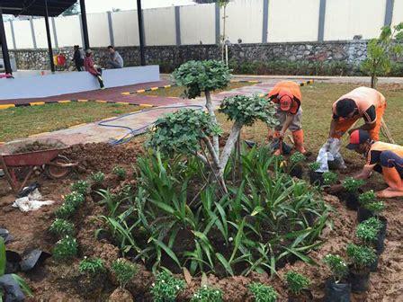 rptra rasela dipercantik ratusan tanaman hias nusakini