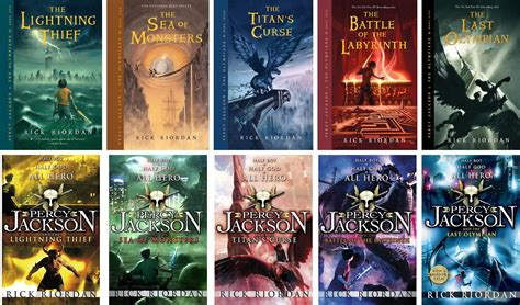 Percy Jackson The Olympians By Rick Riordan Books
