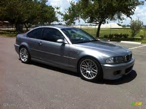 silver grey metallic 2004 bmw m3 coupe exterior photo