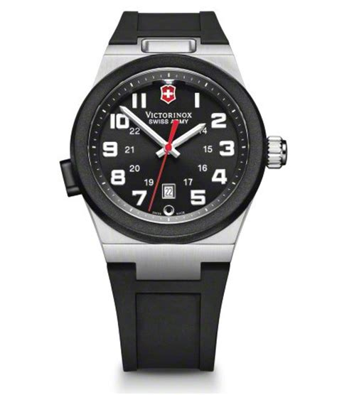 swiss army with light victorinox swiss made army vision ii mens