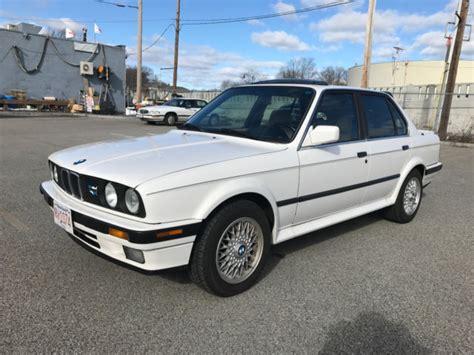 1989 bmw 325ix e30 sedan 5spd manual excellent service history