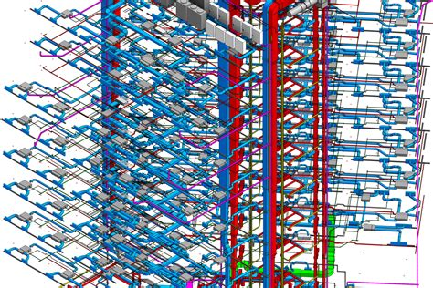 bim modeling projects revit families coordination modeling projects