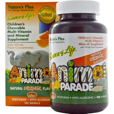 Vitamin Animal Parade Nature S Plus Source Of Animal Parade Children S