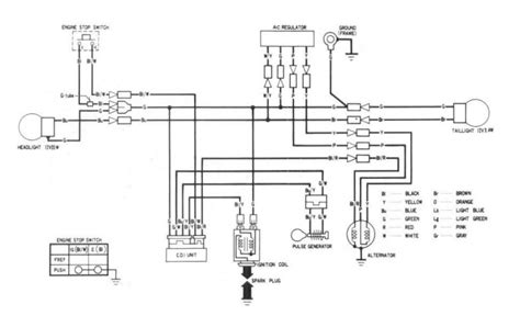 86 xr250 wiring diagram 23 wiring diagram images