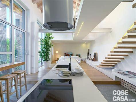 altezza piano cottura loft una casa sottotetto a doppia altezza cose di casa