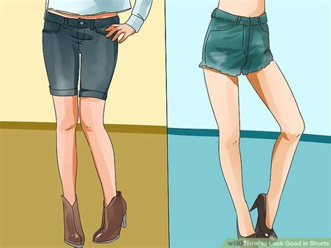 Ways To Look In Shorts by How To Look In Shorts 12 Steps With Pictures Wikihow