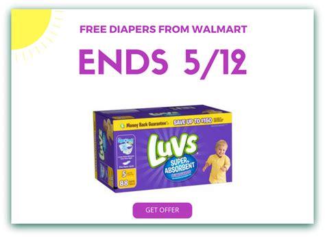 free printable diaper coupons for walmart free luvs diapers at walmart ftm