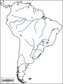 river on map of south america am 233 rica sur mapas gratuitos mapas mudos gratuitos