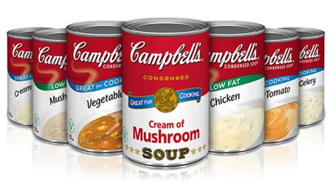 Cbells Soup Cans Get Stylish by Cbell S Condensed Soup Returns In An Original Warhol