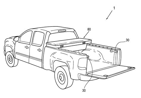 Bed Rail Hooks Patent Us8348331 Cargo Management System For Pick Up