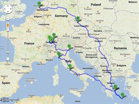 map for trip planning backpacking europe the plan leave a message at
