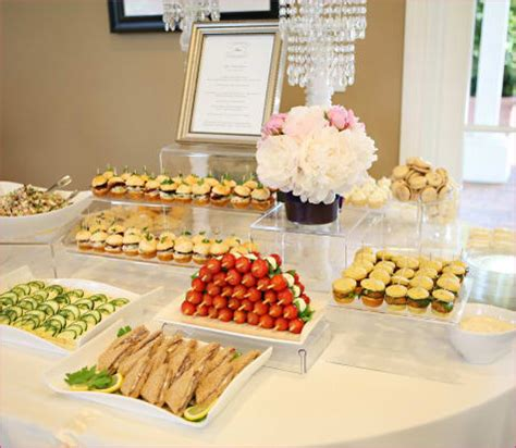 Bridal Shower Food Ideas by Bridal Shower Menu Ideas Finger Foods 2017 2018 Best
