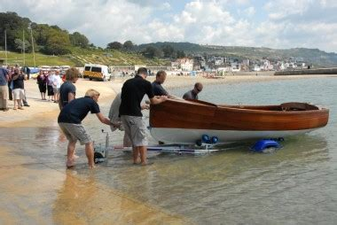 boat building plans for an electric launch 13ft electric launch by andrew wolstenholme launched at