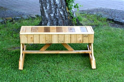 unique wood benches bench out of pallets 101 pallet ideas