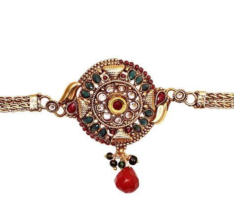 Jodhpuri Bajuband buy designer traditional style gold plated green bajuband armlets for indian
