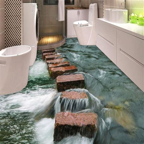 bathroom floor 3d art best 25 floor wallpaper ideas on pinterest grey