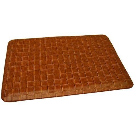 Anti Fatigue Kitchen Rugs Rhino Anti Fatigue Mats Comfort Craft Catmandoo Saddle 24 In X 48 In Poly Urethane Anti