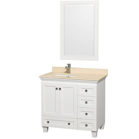Wyndham Bathroom Vanities by Wyndham Collection Wcv800036swhivunsm24 Acclaim 36 Inch