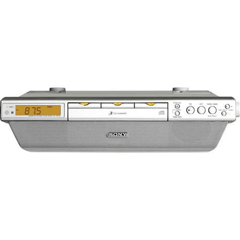 sony cabinet kitchen cd clock radio sony icf cdk70 cabinet kitchen cd clock radio