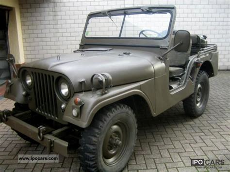 1960 Jeep Willys 1960 Jeep Willys M38a1 T 220 V Again H Approval Car Photo