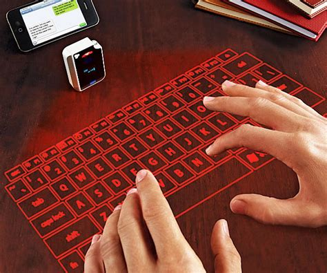 Keyboard Infrared laser keyboard shop best gift cool things