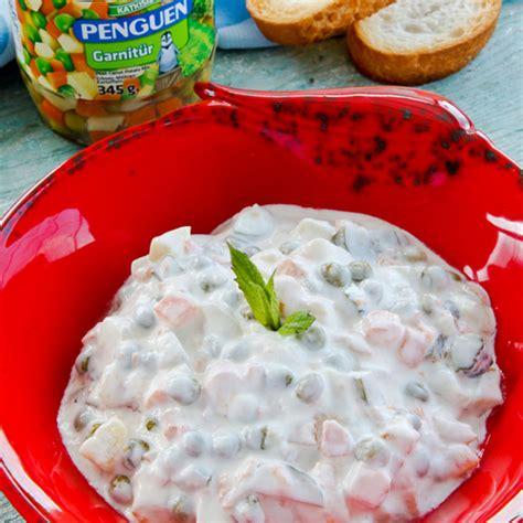penguen yemek tarifleri misirli bezelyeli makarna salatasi penguen yemek tarifleri rus salatası