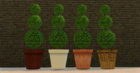 empire sims 3 3 small potted plants by lisen801 potted plant in spiral elegance by adonispluto at mod the