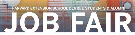 Harvard Mba Career Fair by Harvard Extension School Degree Students Alumni Fair