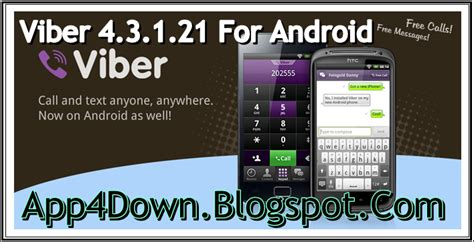 viber apk free for android app viber 4 3 1 21 for android apk popular version app4downloads app for