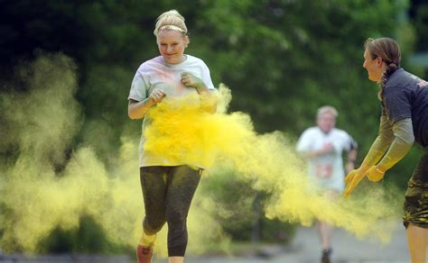 color run maine gallery augusta color run kennebec journal and morning