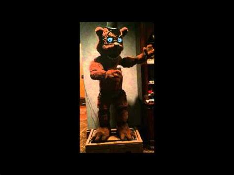 real life five nights at freddy's animatronic is not cool