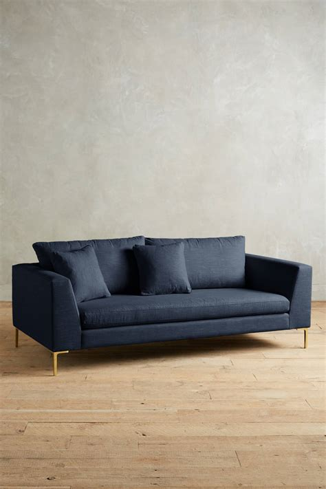 belgian linen sofa belgian linen edlyn sofa anthropologie