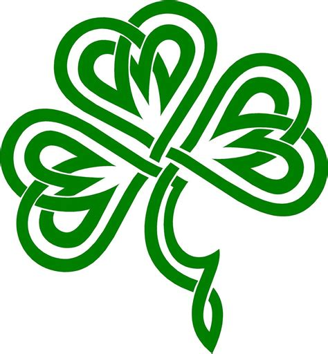 free logo design ireland celtic shamrock clipart best
