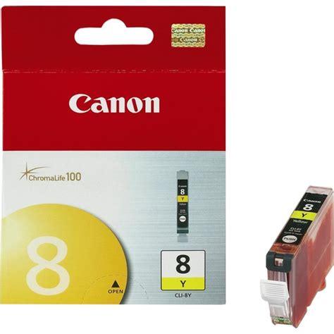 Canon Cli 8 Yellow canon 0623b002 ink cartridge cli 8 yellow for