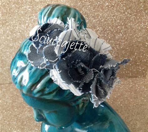 fiori di stoffa per capelli cerchietto per capelli fantasia estiva con fiori in stoffa
