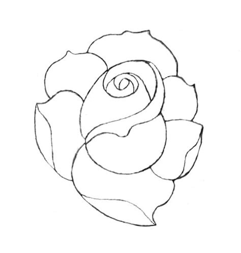 how to draw a traditional rose tattoo traditional traditional