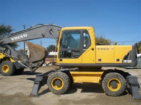 volvo service volvo ew180b wheeled excavator service repair manual