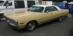 Chrysler Newport 1972 Chrysler 1972 Newport Royal 4door Hardtop The History Of