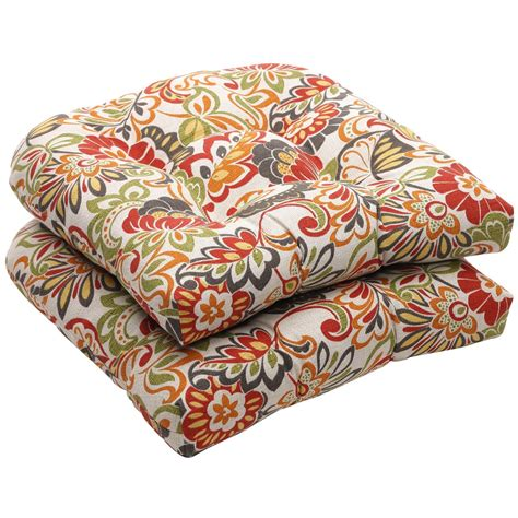 2 seat cushion pillow for outdoor patio furniture porch