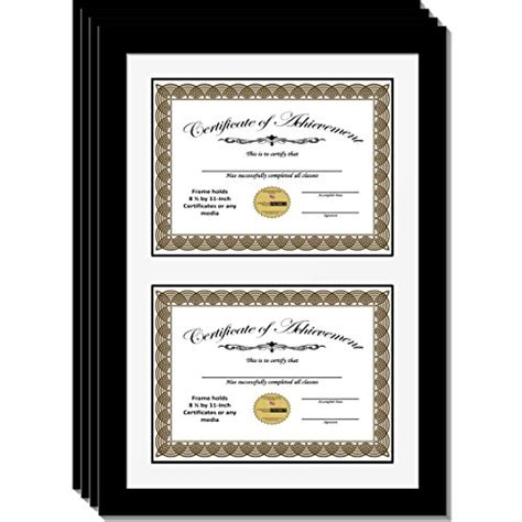 14x20 Frame With Mat by Creativepf 14x20 5bk W Diploma Frame With White