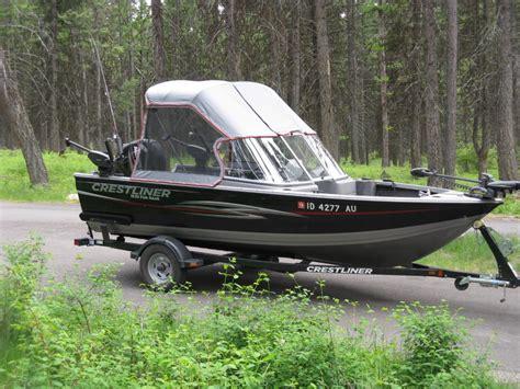 crestliner boats 1650 fish hawk crestliner boats for sale in idaho