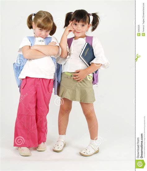 school girl uniform stock photos pictures royalty free two sweet school girls stock image image of trendy