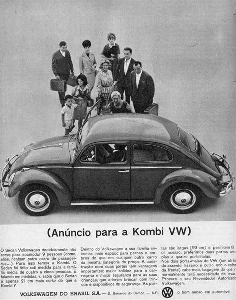 Julio Cezar Kronbauer's Blog: (Anúncio para a Kombi VW)