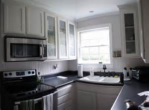 White Kitchen Cabinets Black Appliances Kitchen With Black Appliances And White Cabinets Home Design Ideas