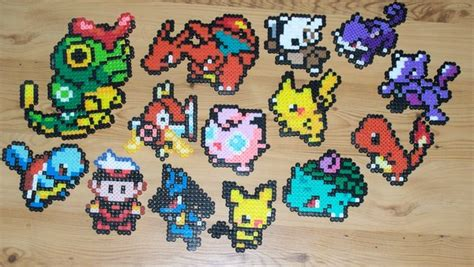 nerdcraft craft like a nerd with perler bead sprites