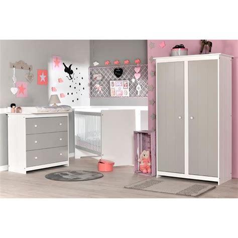 chambre bebe gris clair chambre b 233 b 233 compl 232 te gris clair et blanc grain d orge