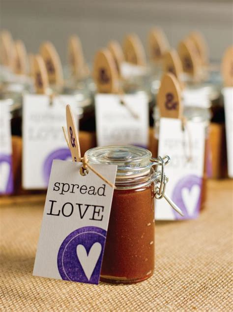 favors to make how to make apple butter wedding favors hgtv